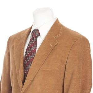 Brooks Brothers 2 Button Brown Corduroy Sport Coat